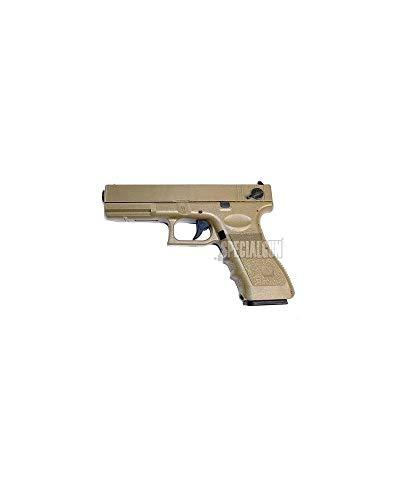 Cyma Softair Airsoft G18 Pistole AEP Semi/Full Auto Cm030t 0,5 Joule Kal. 6mm BB Desert