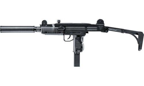 IWI UZI SMG Softair inkl. Schalldämpfer 6mm BB schwarz