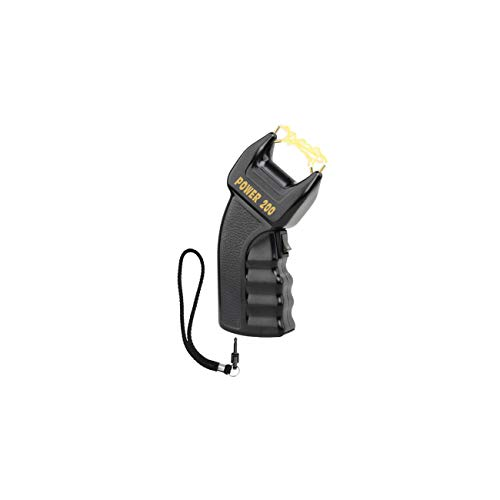 Elektroschocker POWER 200 200000 Stun Gun mit Sicherheitsschalter