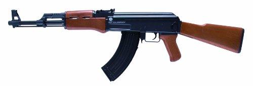 Softair Gewehr 202229 Kalashnikov AK 47 wood Kaliber 6 mm Federdruck 0.5 Joule