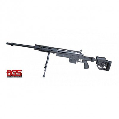 BlackDefender BGS M4412B Sniper - Softair 6mm BB