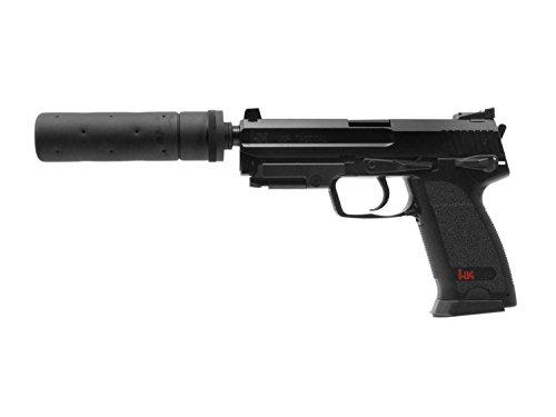 Heckler & Koch USP Tactical Softair / Airsoft AEP inkl. Akku, Lader & Silencer  0,5 J. [2.5976]#14
