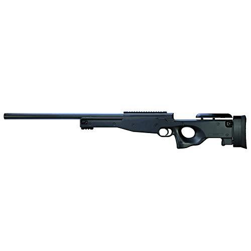 Rayline M59A Softair Gewehr Sniper (Manuell Federdruck), Material: ABS (Stoßfest), Nachbau im Maßstab 1:1, Länge: 100cm, Gewicht: 2100g, Kaliber: 6mm, Farbe: Schwarz - (unter 0,5 Joule - ab 14 Jahre)