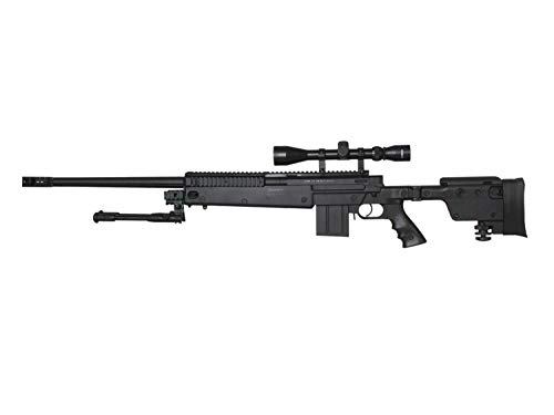 Well MB4407 Upgrade Airsoft Sniper Rifle, mit Metall Internals -Roedale Deluxe Edition-  0,5 J.