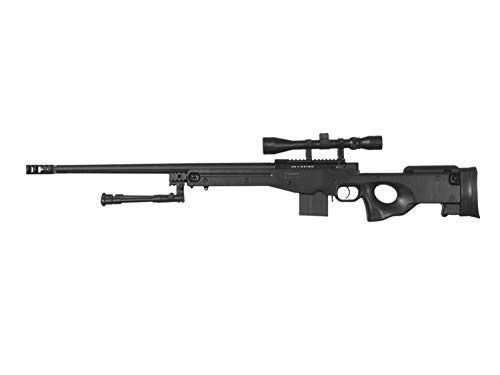 Well MB4402 Upgrade Airsoft Sniper Rifle, mit Metall Internals -Roedale Deluxe Edition- 0,5 J.