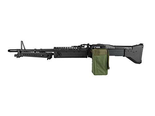 A&K M60 Vollauto Softair/Airsoft Light Machine Gun Maschinengewehr -schwarz-  0,5 Joule