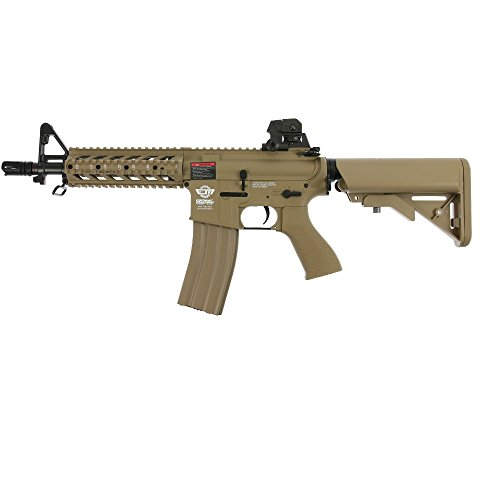 OpTacs Softair - G&G Armament M4 CM16 Raider - ab 14, unter 0,5 Joule Desert