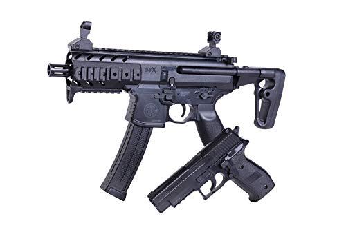 Sig Sauer Zwei Waffen Set SIG1 MPX + P226 Federdruck Pistole + Gewehr 6mm BB